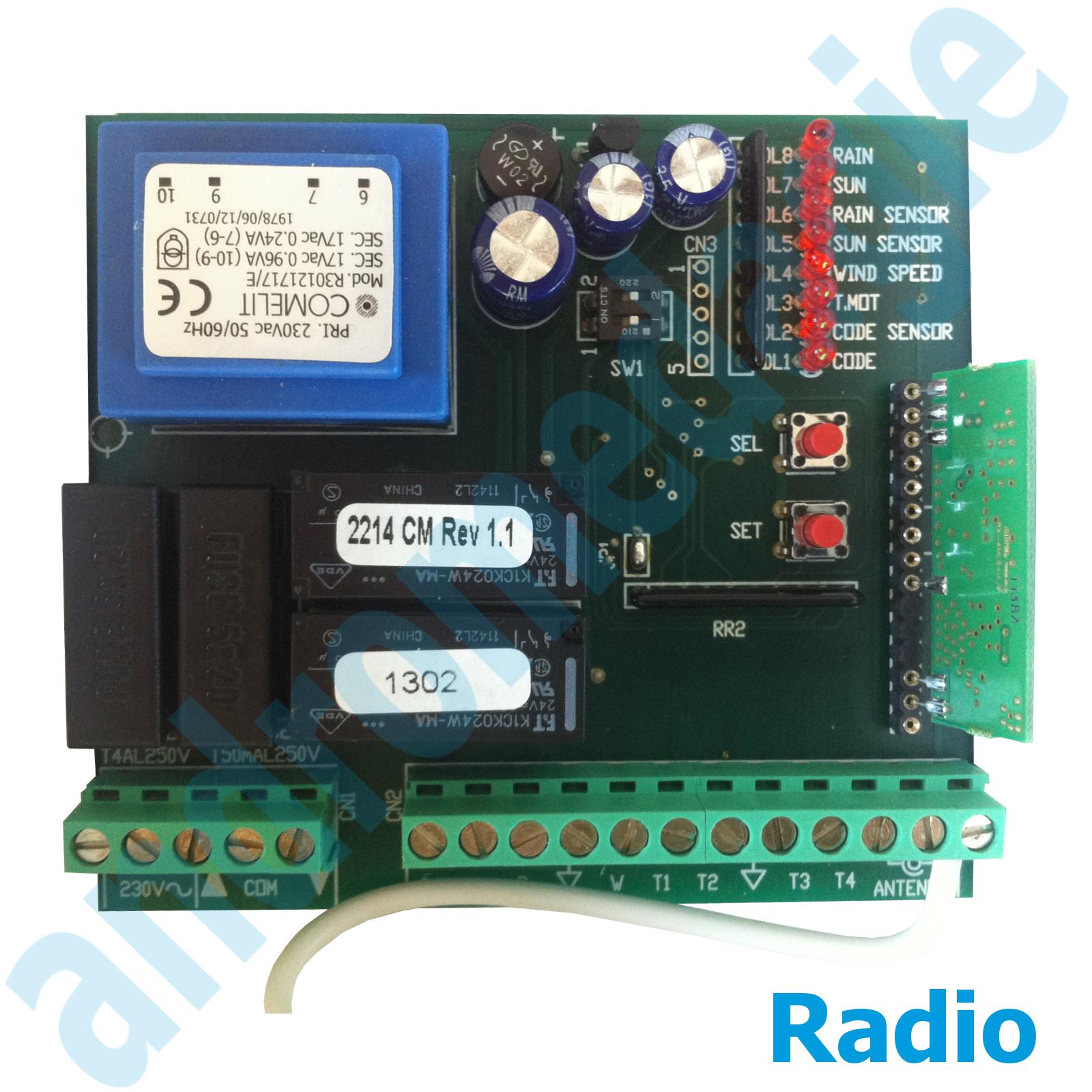 STEUEREINHEIT 230V INTEGRIERTE RADIO