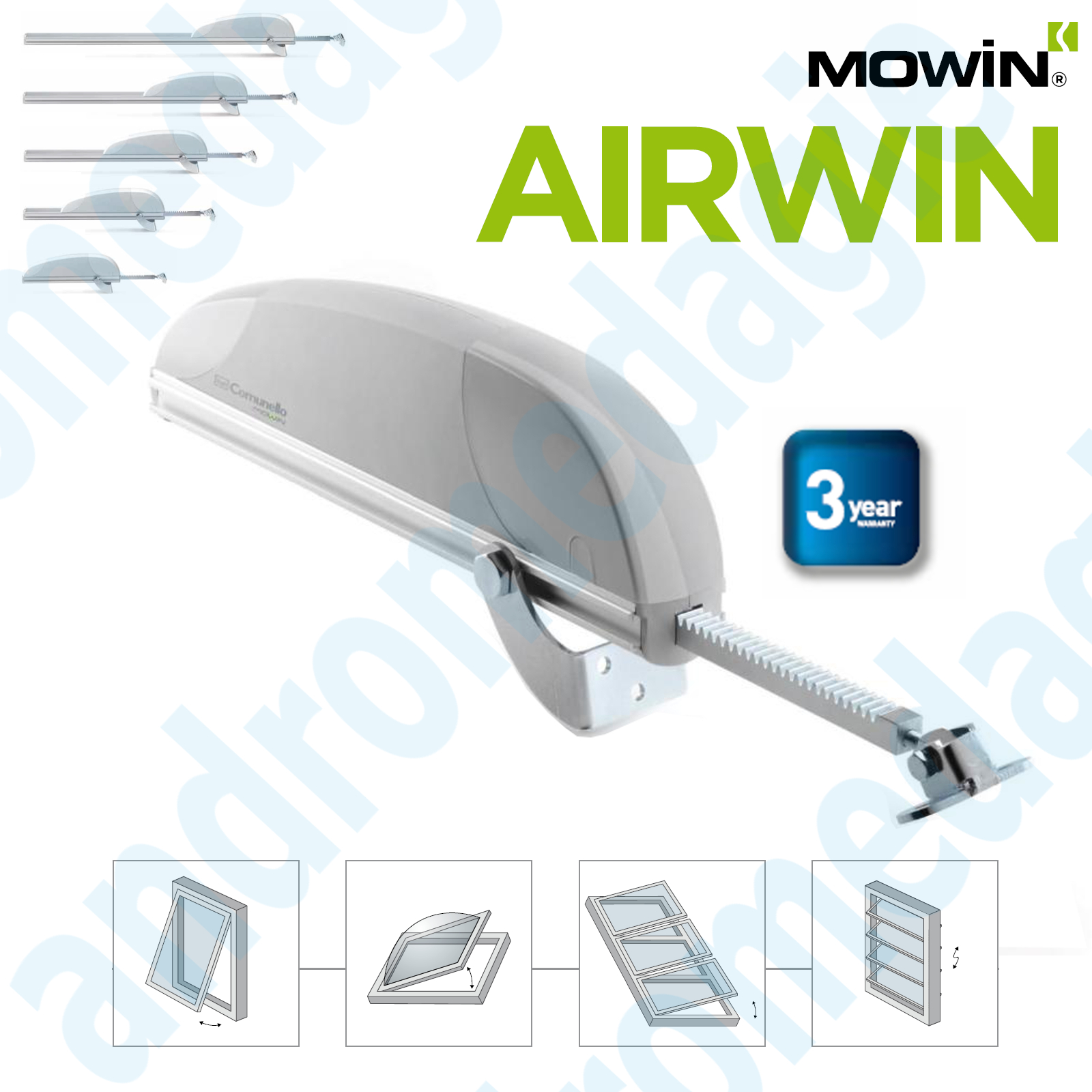 ACTIONNEUR AIRWIN 450N