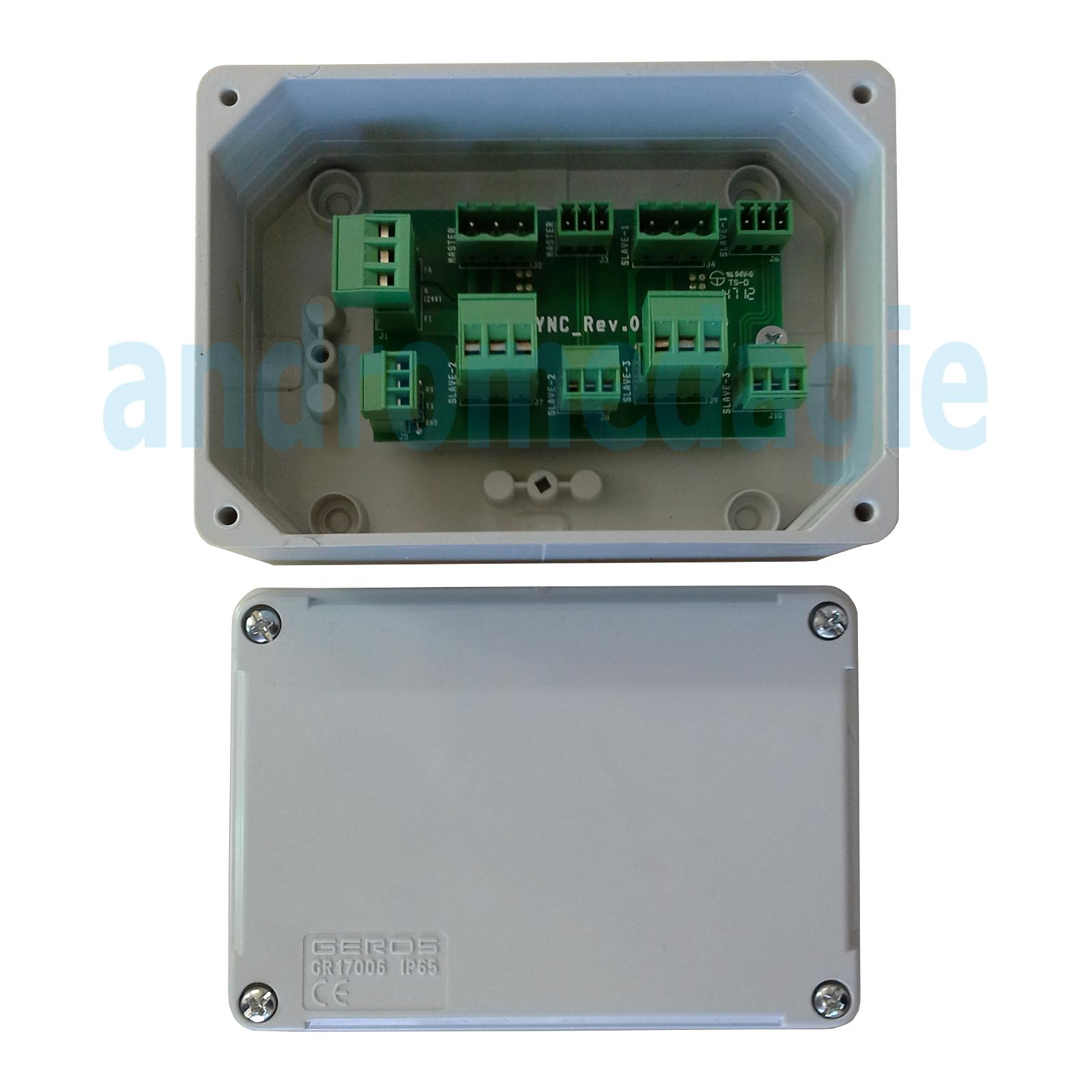 ACTUADOR LIWIN L35 2W-NET RADIO 230V 350N