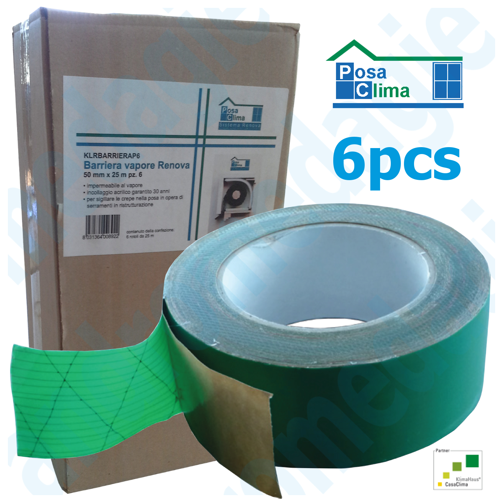VAPOR BARRIER RENOVA 50MMx25MT 6 PCS