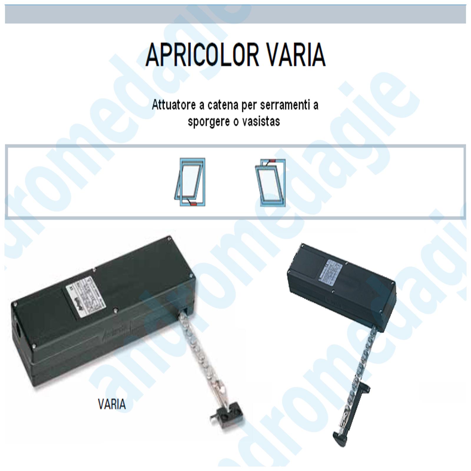 APRICOLOR VARIA 230V BIANCO + KIT VASISTAS
