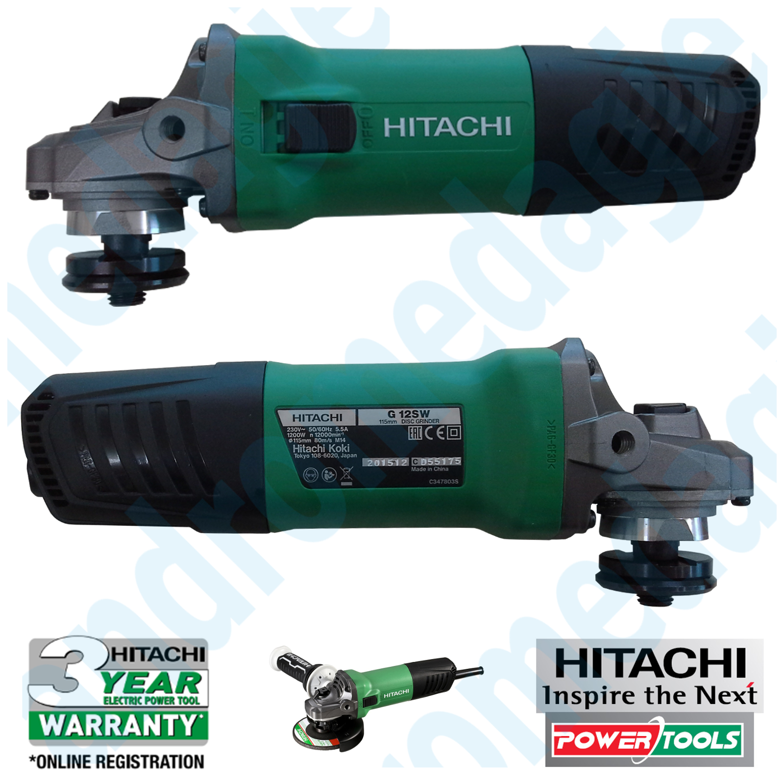 HITACHI G12SW+DISCO