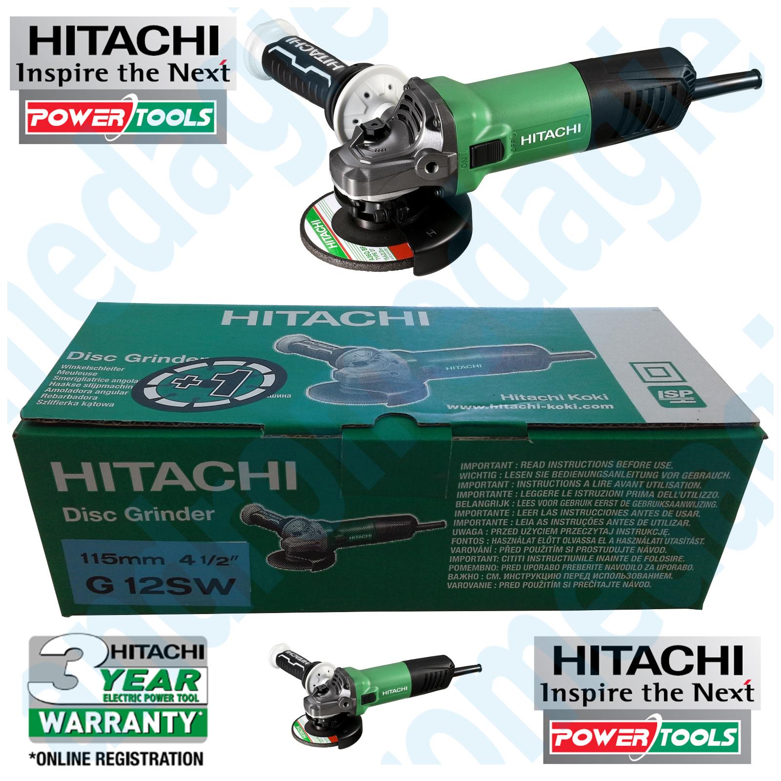 HITACHI G12SW+DISCO