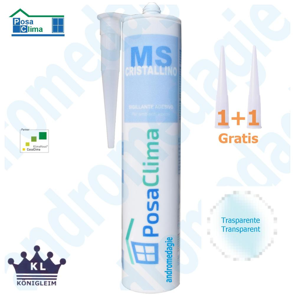 MS POLYMERE HANNO 290ML TRANSPARENT