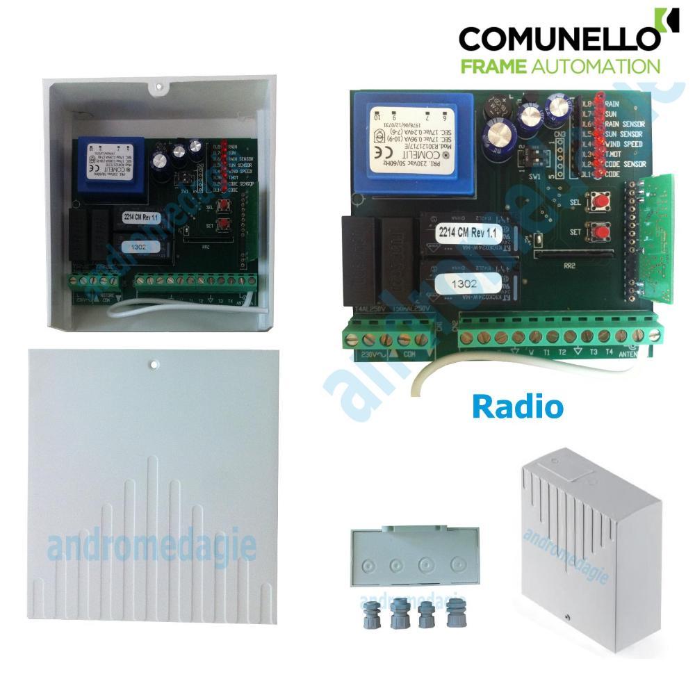 UNITA' DI CONTROLLO 230V RADIO INTEGRATA