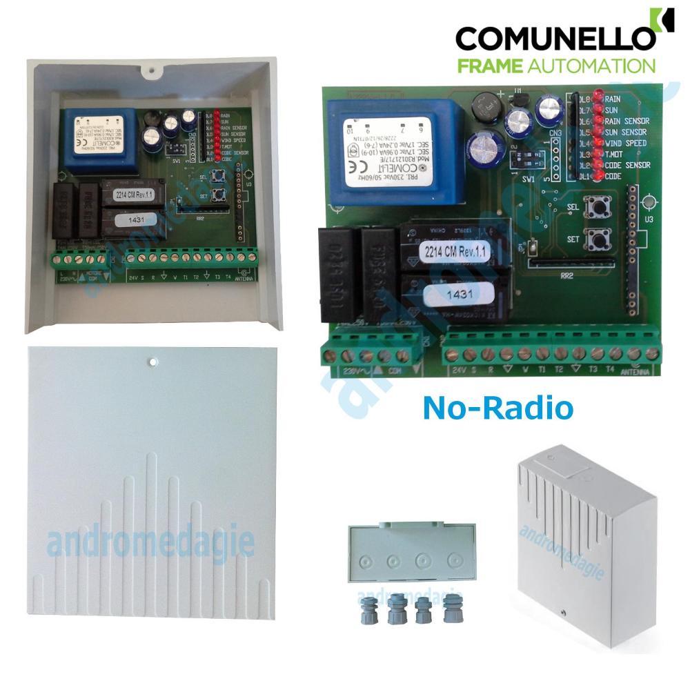 UNITA' DI CONTROLLO 230V NO-RADIO