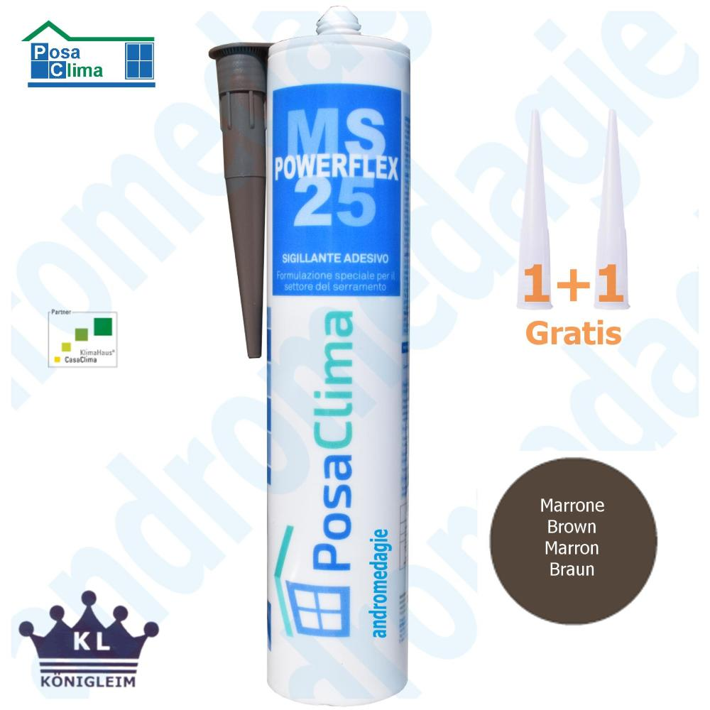 MS POLYMERE HANNO 290ML BRUN
