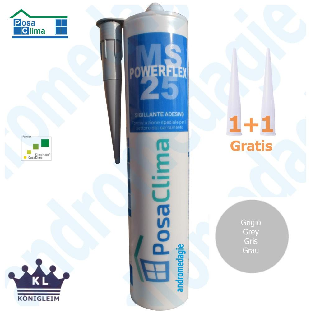 MS POLYMERE HANNO 290ML GRIS
