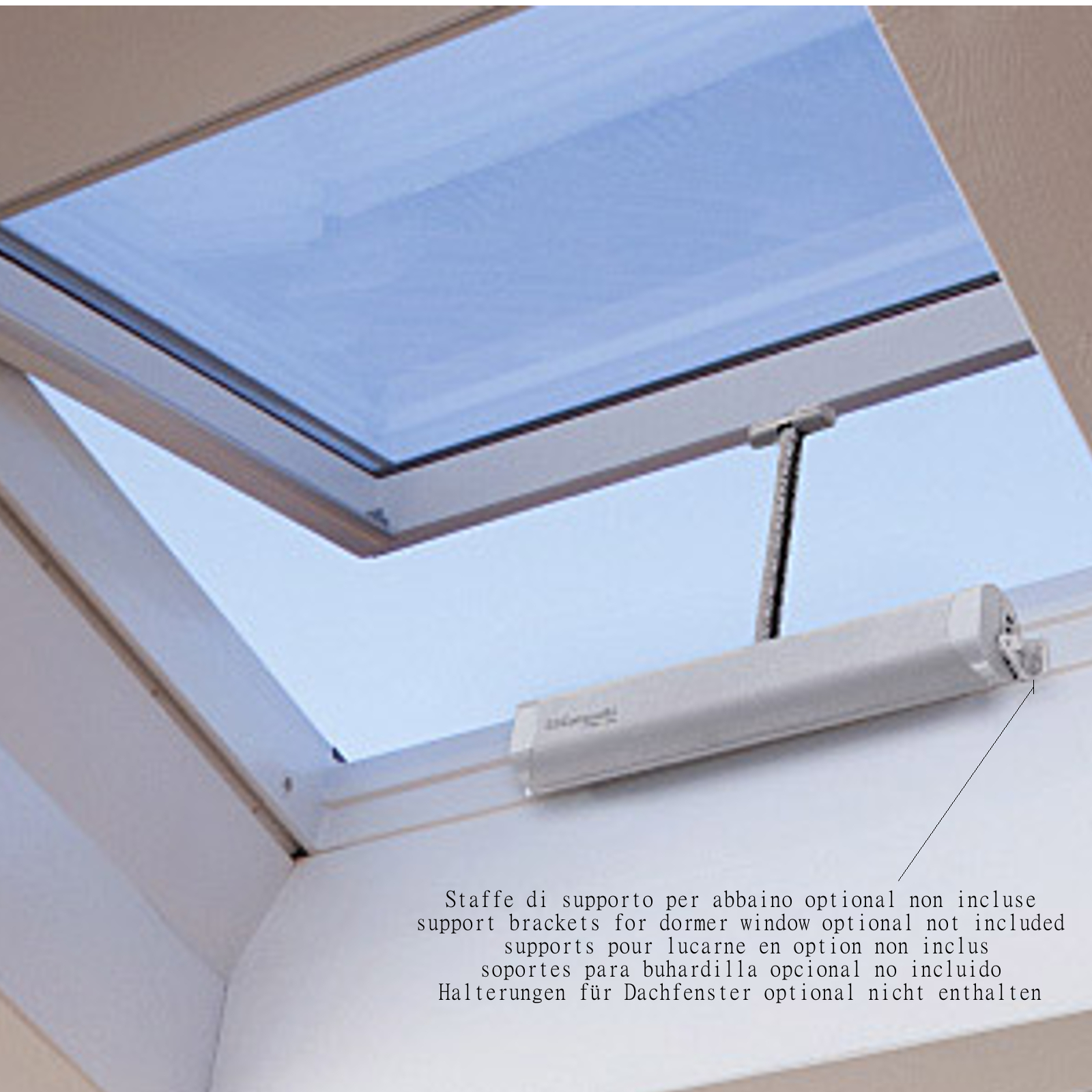 LIWIN 350N 230V BLACK Electric Window Openers Top Bottom Hung Shed Skylight