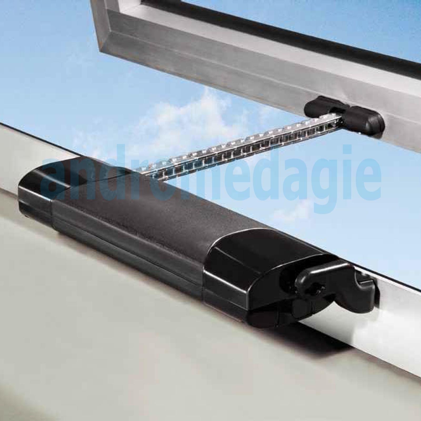 Smart 230v bianco mowin motore a catena per finestre for Motore elettrico per velux